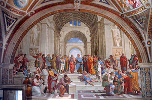 Raphael: Philosophy / The School of Athens