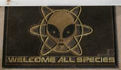 Welcome-All-Species doormat