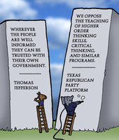 The Far Left Side/Mike Stanfill 2012-06-29: The Stupid Party vs. Critical Thinking