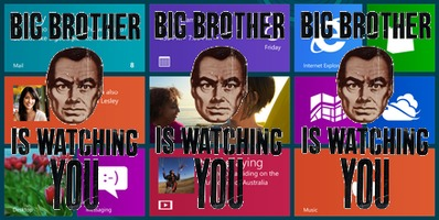 Big Brother Microsoft Windows
