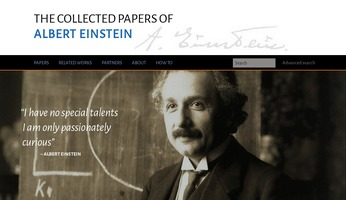 Digital Einstein Papers