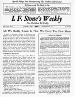 I.F. Stone Weekly