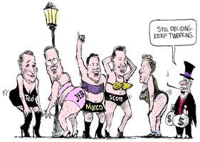 Twerking candidates