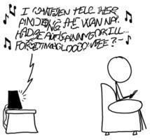xkcd 1538: Lyrics