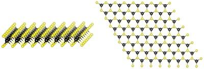 2-D transition metal dichalcogenide