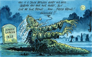 Dave Brown 2015-07-23: Zombie Labour R.I.P.