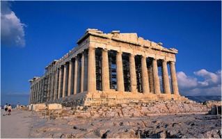 Crumbling Parthenon