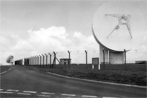Original Echelon surveiillance antennae