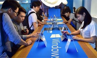Windows 10 promotion
