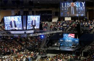 Bernie Sanders at Liberty University