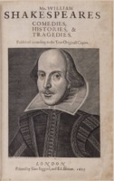 William Shakespeare's First Folio 1623