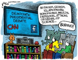 Boring Democratic debate