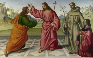 Giovanni Battista da Faenza: The Incredulity of Saint Thomas