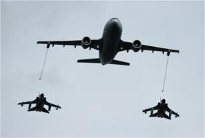 Tankflugzeug der Luftwaffe
