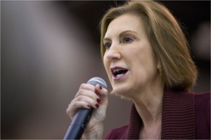 Carly Fiorina mouthing off
