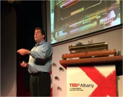Chad Orzel at TEDxAlbany 2015-12-03