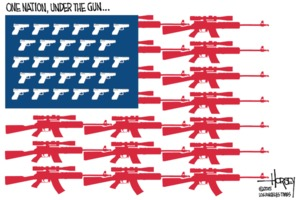 David Horsey: One Nation Under the Gun