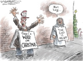 Nick Anderson: Fox News War on Christmas