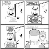 Jesus and Mo 2016-02-10: Beard