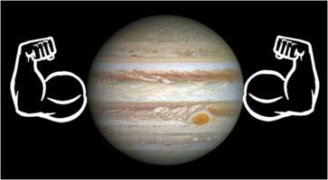 Jupiter muscles