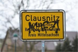 Ort der Scham Clausnitz