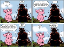 The Atheist Pig: Devil in the Details