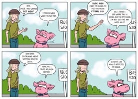 The Atheist Pig: High Five