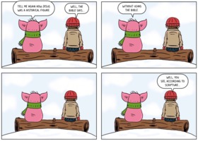 The Atheist Pig: The Bible Says