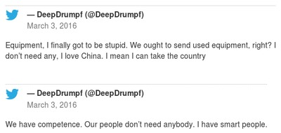 DeepDrumpf