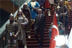 pompous Recep Tayyip Erdogan