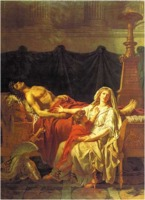 Andromache mourns Hector