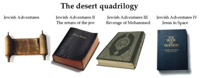 Jewish Adventures, The Desert Quadrilogy