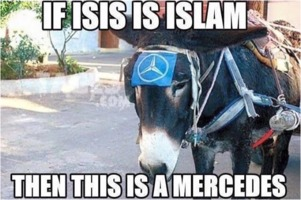 If ISIS is Islam then this is a Mercedes