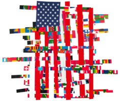 Nicolas Ortega Garbled Flags