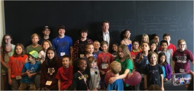 Sean Carroll and the Davidson Young Scholars