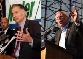 Ralph Nader in 2000, Bernie Sanders in 2016