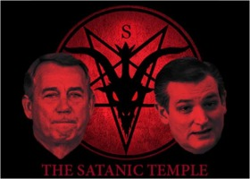 Satanic Temple vs. John Boehner and Ted Cruz