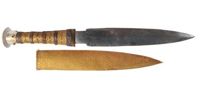 King Tut's iron meteorite dagger