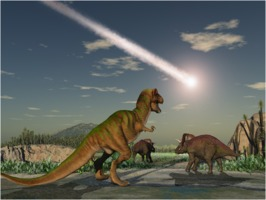 Asteroid and dinosaurs