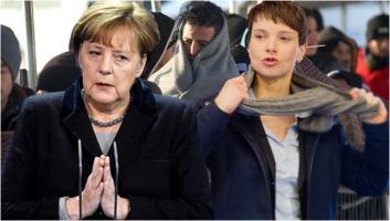 Angela Merkel und Frauke Petry