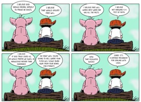 The Atheist Pig: Defense Mechanism