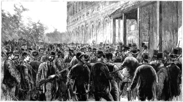 1891-03-14 New Orleans lynchers breaking Into prison