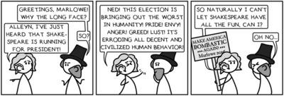 GoodTickleBrain: Campaign rivals