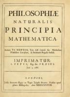 Isaac Newton: Philosophiæ Naturalis Principia Mathematica