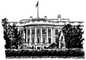 Tom Bachtell: The White House