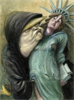 Victor Juhasz: Donald Trump gropes Liberty