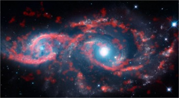 ESO potw1645a: IC 2163 and NGC 2207