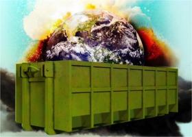 Trump's dumpster fire