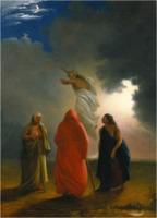 William Rimmer: Macbeth witches