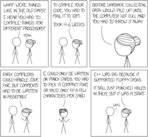 Randall Munroe: xkcd 1755: Old days